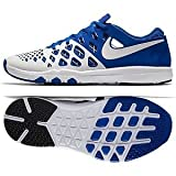 Nike Train Speed 4 Amp NCAA UK Kentucky Wildcats 844102-411 Royal/White Men's Basketball Shoes (size 11.5)
