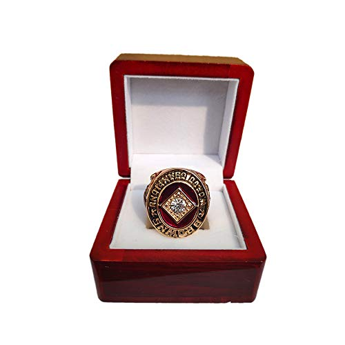Gloral HIF Cleveland Browns Championship Ring 1964 Ring Replica with Display Wooden Box