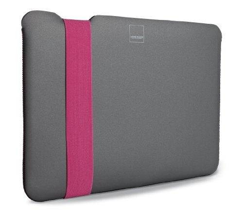 Acme Made Skinny Sleeve for 15-Inch MacBook Pro, Grey/Pink (AM36685-PWW)