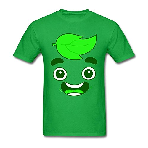 ice Youtuber Cute Head Design T Shirt-Funny Casual Style ()