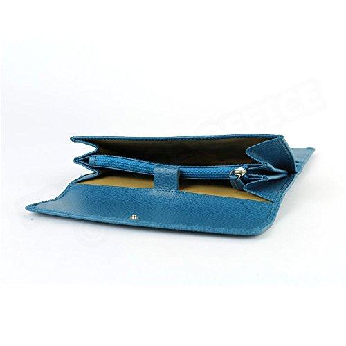 Compagnon de voyage cuir Bleu-turquoise Beaubourg