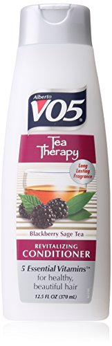 Alberto VO5 Tea Therapy Blackberry Sage Tea Revitalizing Conditioner for Unisex, 12.5 Ounce