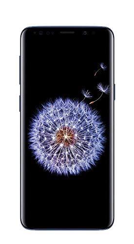 "Samsung Galaxy S9+ Plus (64GB, 6GB RAM) 6.2"" Display, Snapdragon 845, IP68 Water Resistance T-Mobile Unlocked for GSM/CDMA G965U (US Warranty) (Coral Blue)"