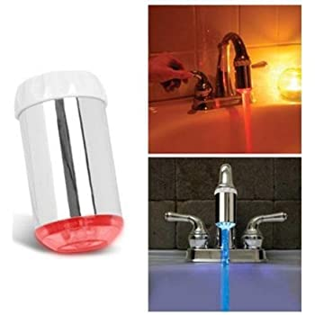 Umiwe Tm 3 Color Water Glow Led Faucet Light Temperature