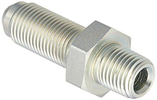 Brennan Industries 2706-04-06 Steel Bulkhead Straight Tube Fitting, 1/4