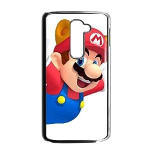 LG G2 Cell Phone Case Black Super Smash Bros Mario LV7134184