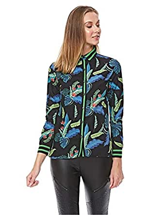 Iconic Shirts For Women 10 UK, Multi Color