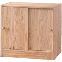 Whistler Junior 2 Door Cabinet - Natural