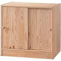 Whistler Junior 2 Door Cabinet - Natural
