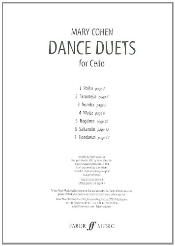 Dance Duets for Cello Duo (Faber Edition)