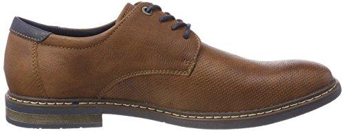 Cognac Derby para Supremo 4813401 Zapatos de Hombre Marrón Cordones Anq847wq