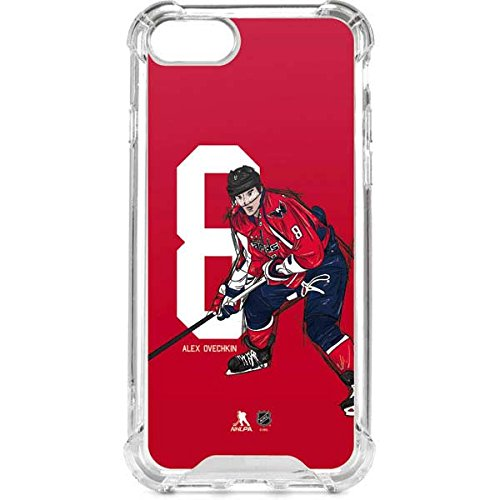 (Skinit NHL Washington Capitals iPhone 7 LeNu Case - Alex Ovechkin #8 Action Sketch Design - Premium Vinyl Decal Phone Cover)