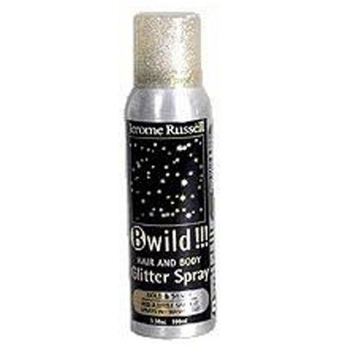 (Jerome Russell B-Wild Glitter Spray DUO Gold & Silver by Jerome Russell)