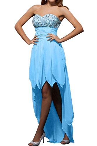Missdressy - Vestido - plisado - para mujer Azul