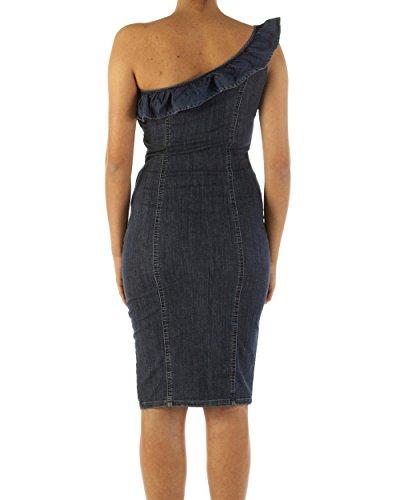 LIU-JEANS abito new gingerly Donna u18011d4026/.77555/den.blue deneris wash/a8e primavera/estate