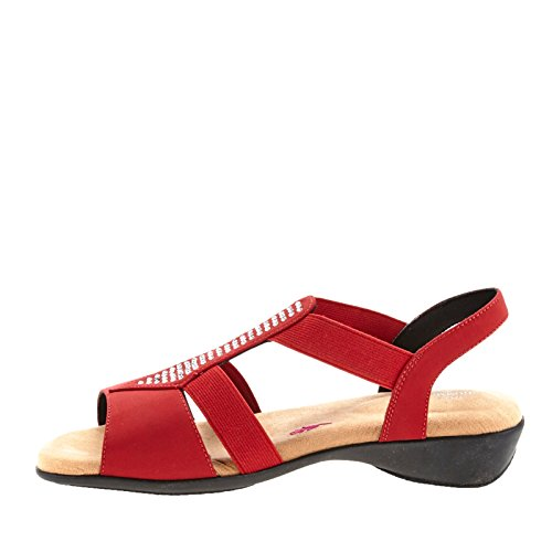 Ros Hommerson Mellow Sandalo Donna Rosso