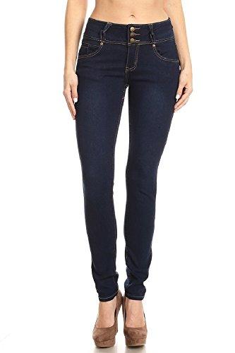 Jvini Womens Classic Slimming Butt Lift Stretch Skinny Denim Jeans 0967 Plus Size 18