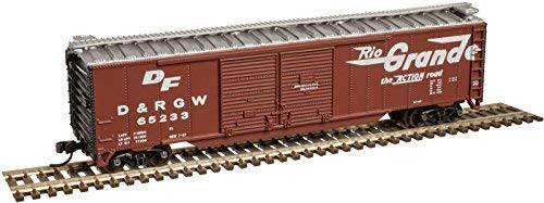 Atlas N Scale 50' Double-Door Boxcar Denver & Rio Grande for sale  Delivered anywhere in USA