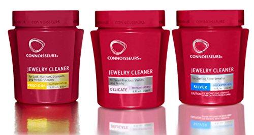 CONNOISSEURS GOLD DIP & CONNOISSEURS SILVER DIP & Connoisseurs New Revitalizing Delicate Cleaner -8 Oz