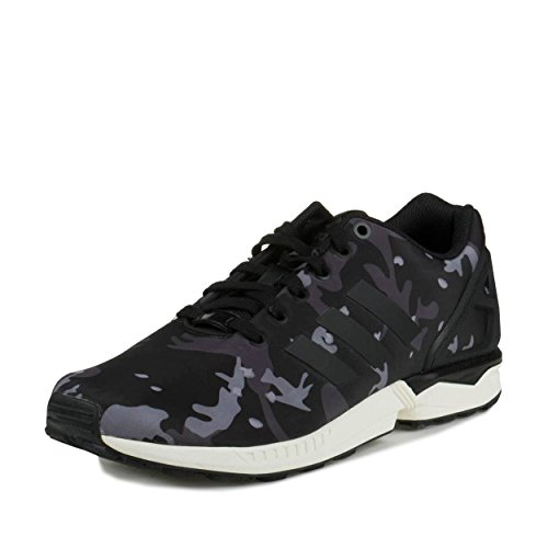 Flux Adidas Zx Black1 / Écru / Taille Synthétique De Carbone