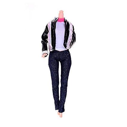 386ea06a9b Amazon.com: VINSS Accessories Doll Party Clothes Elegant Blouse ...