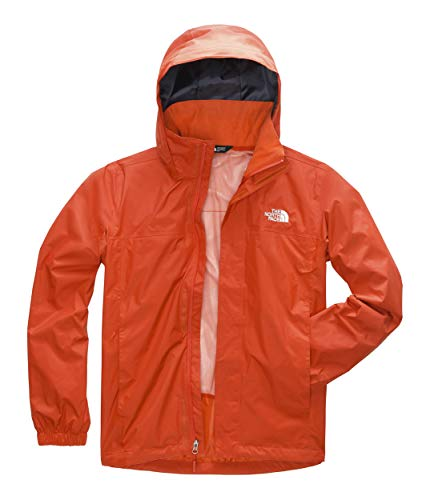 The North Face Men's Resolve 2 Jacket, Zion Orange, Size - Boots Snow North Waterproof Face