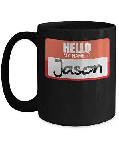 My Name Is Jason Halloween Costume Horror Film Scary Movie Trick or Treat Gift Mug | Simple Halloween Costume Idea ()