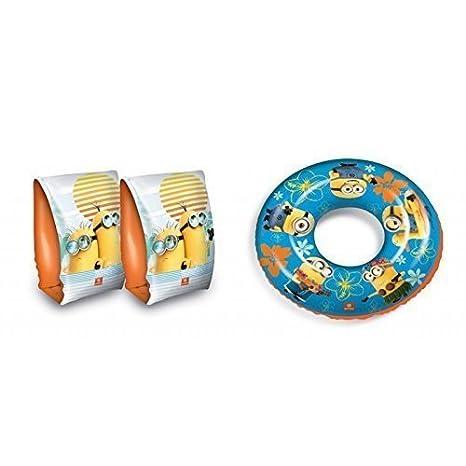 Manguitos y Flotador de Ich - Mi villano favorito / Minion: Amazon.es: Juguetes y juegos