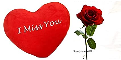Buy jhar product handmade i miss you heart free 1 rose and jhar product handmade i miss you heart free 1 rose and greetings card m4hsunfo