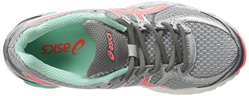Asics Gel Flux 2 zapatillas de running Lightning/Hot Coral/Beach Glass