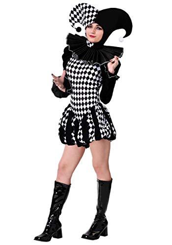 Women's Evil Clown Costume Small