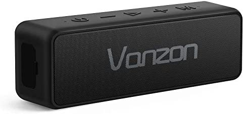 Bluetooth Speakers - Vanzon X5 Pro Portable Wireless Speaker V5.0 with 20W Loud Stereo Sound, TWS, 24H Playtime & IPX7 Waterproof, Suitable for Travel, Home&Outdoors