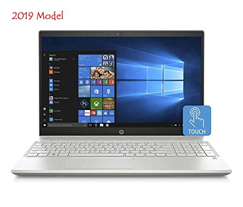 "HP 15t Slim Touchscreen Laptop in Silver 8th Gen Intel i7 up to 4 GHz 24GB (16GB Optane + 8GB DDR4 RAM) 1TB HDD 15.6"" HD B&O Play WiFi (Renewed)"
