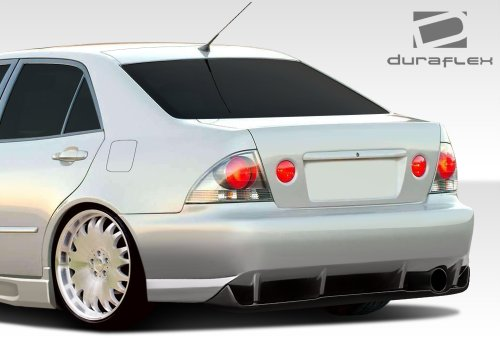 Duraflex 107770 2000-2005 Lexus IS Series IS300 4DR Duraflex C-Speed Rear Bumper Cover ()