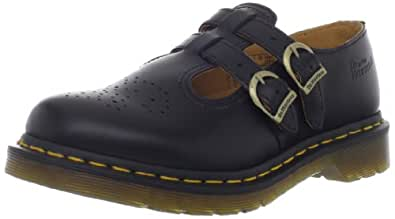 Dr. Martens 8065 Double Strap Mary Jane Black Smooth 3 F(M) UK/ 5 US