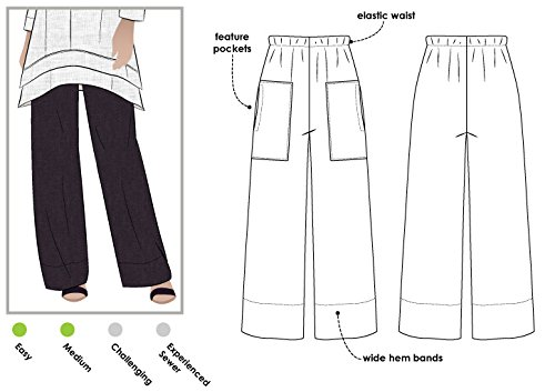 Style Arc Sewing Pattern - Daisy Designer Pant (Sizes 04-16) - Click for Other Sizes Available