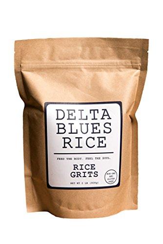 Delta Blues Rice (White Rice Grits, 2 LB)