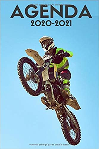 Calendrier Motocross 2021 agenda moto cross 2020 2021: agenda scolaire 2020 2021 moto