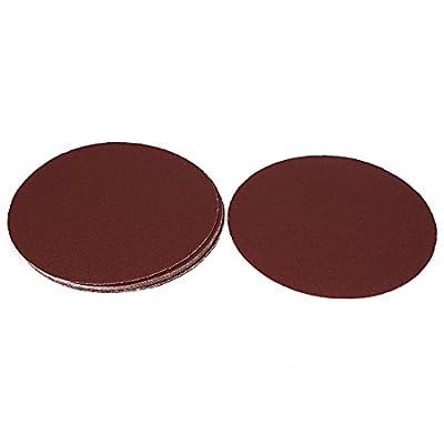 uxcell 8inch Dia Abrasive Sanding Sandpaper Sheet Disc 60 Grit 10 Pcs
