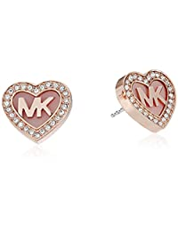 Michael Kors Symbols Rose Gold-Tone Stud Earrings