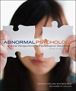Abnormal psychology clinical perspective 6th edition halgin.