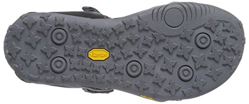 Hi-Tec AURORA - Sandalias deportivas de material sintético para mujer gris - Grau (053 CHARCOAL/GREY/EMERALD)