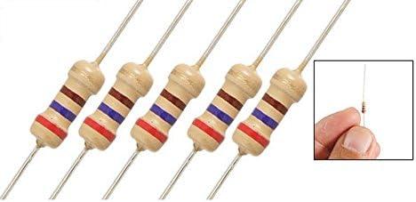20resistencias 1/4W para ledes de 12V. Transmisión de alimentación para diodos tira luz