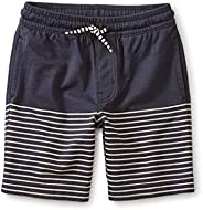 Tea Collection Kids Indigo Knit Beach Shorts