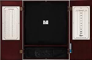 Viper Metropolitan Sisal/punta de acero cerdas y armario Diana), Mahogany Finish