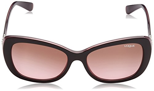 Vogue Lunettes de soleil 0Vo2943Sb Top Brown / Opal Pink, 55