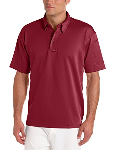 Burgundy Ice - Propper Men's Ice Polo, Burgundy, Large