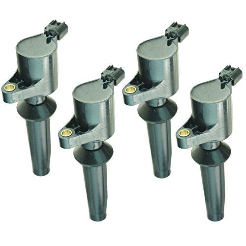Ignition Coils Kit Set of 4 for Ford Mazda Mercury 2.0L 2.3L I4