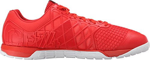 Reebok Mens Crossfit Nano 4.0 Pax Can / China Rosso / Bianco / Nero Sneaker 10,5 D (m)