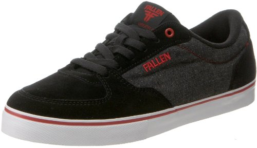 Fallen Men's Mission Skate Shoe,Black/Denim,9 M US